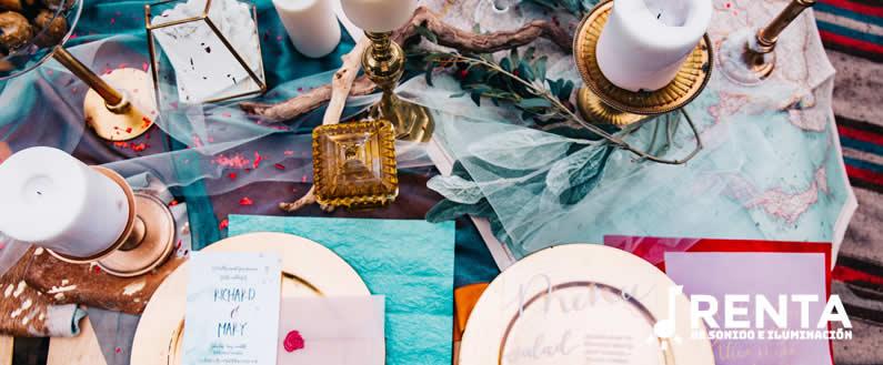 mesa para bodas